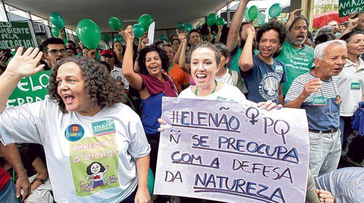 Malestar. Ambientalistas cuestionaron el plan para fusionar los ministerios de Agricultura y de Medio Ambiente.