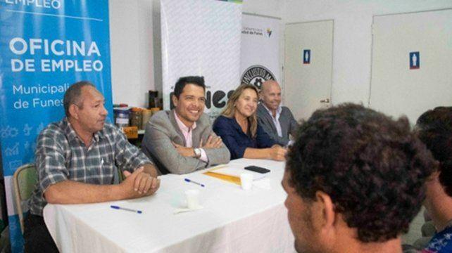 Integración. El programa es articulado por el municipio y Nación.
