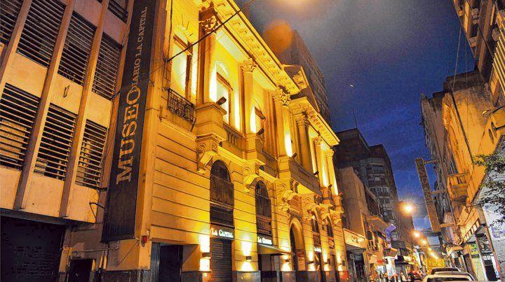 De noche. El Museo del Diario La Capital abrirá las puertas para los visitantes