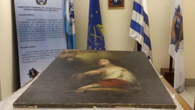La obra de Murillo que fue robada hace 35 años se recuperó en Uruguay.