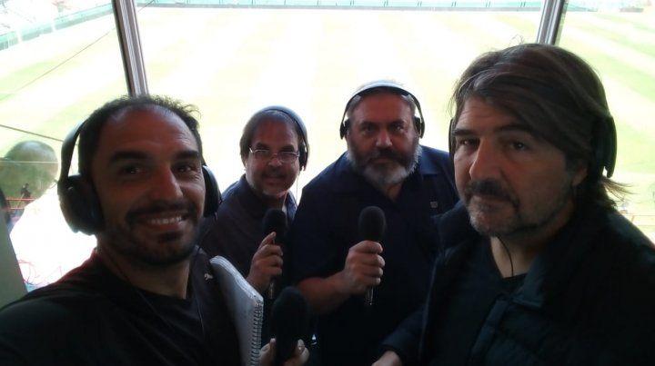 Seguí en vivo con el equipo de La Ocho la transmisión del clásico en Sarandí