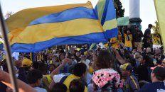carnaval canalla en el monumento a la bandera