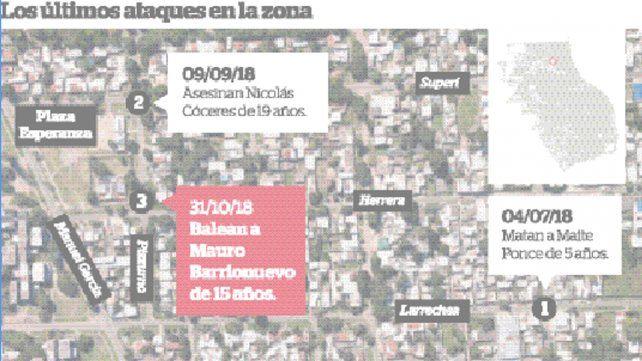 Los pesquisas del nuevo crimen ocurrido en barrio El Churrasco apuntan a una banda dedicada al narcomenudeo.