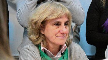 La legisladora santafesina Silvia Augsburger.
