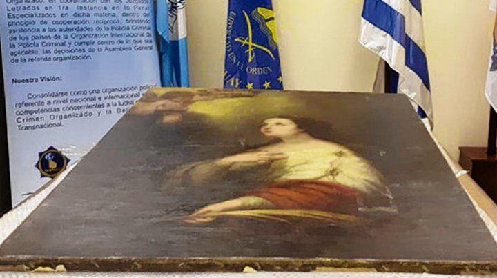 Santa catalina. El municipio ya piensa en exhibir espacialmente la obra para celebrar los 50 años del museo.