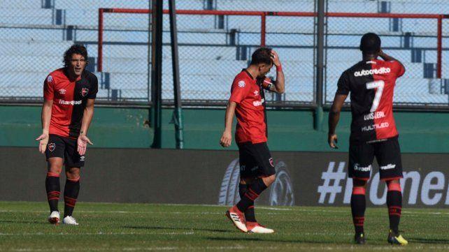 Newells no tuvo reacción cuando recibió el golpe del gol