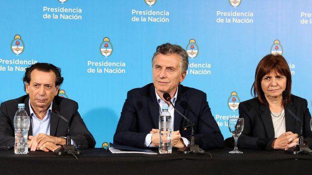 Mauricio Macri le pidió a la ministra de Seguridad