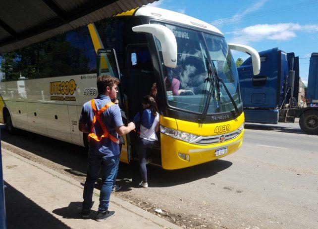 El transporte interurbano sube un 25 por ciento el domingo