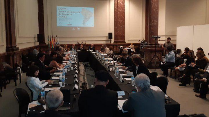 Rosario fue sede del plenario del Consejo de Rectores de Universidades del Grupo Montevideo