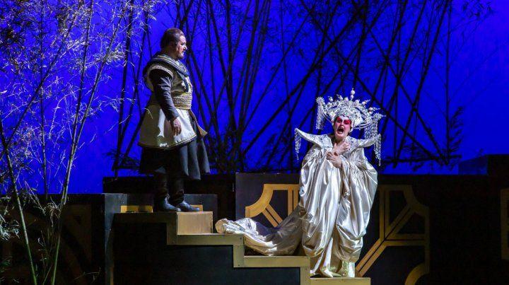 Despedida. La ópera Turandot dará su última función hoy en El Círculo.
