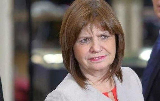 Polémica. La ministra Patricia Bullrich no se privó de nada en sus palabras.
