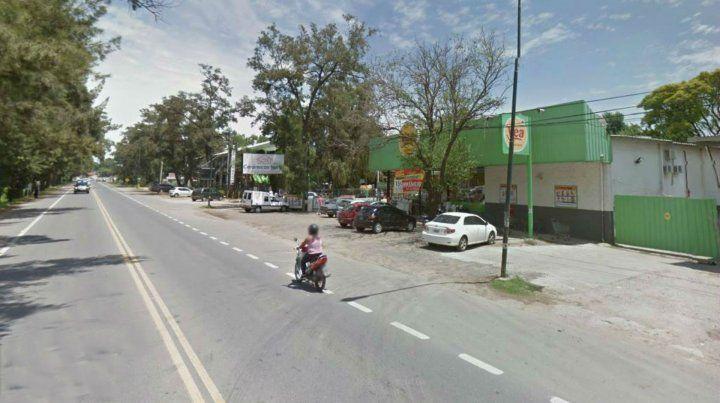 El robo se produjo en el súper de Córdoba al 900 de Funes