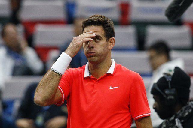 Del Potro no jugará el Masters de Londres y lo reemplazará Nishikori
