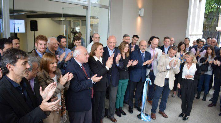 Ampliación. Esta semana se inauguró un nuevo edificio en la Zona i.