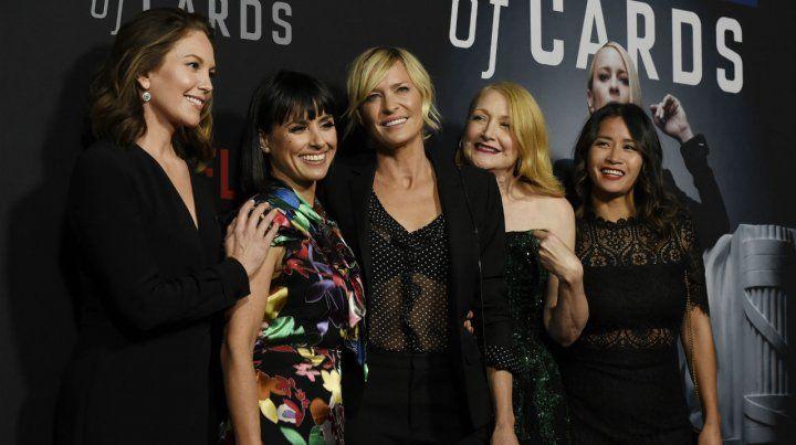 Las mujeres de la serie (de izq. a der.): Diane Lane