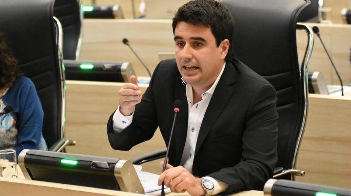 El concejal Eduardo Toniolli (PJ)