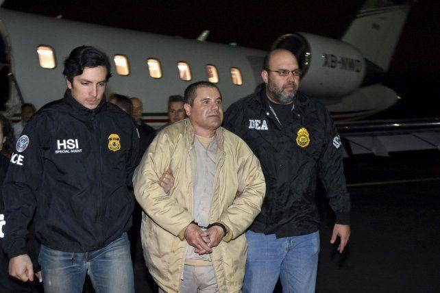 Tras las rejas. El Chapo Guzmán es extraditado a EEUU en enero de 2017.