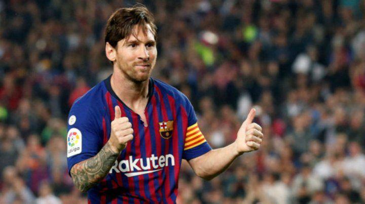 Prepara el regreso. Messi ya se recuperó de la fractura en el brazo derecho.