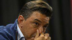 Castigado. El Muñeco Gallardo deberá pagar una multa de 50 mil dólares, de acuerdo a la sanción que le aplicó la Conmebol.