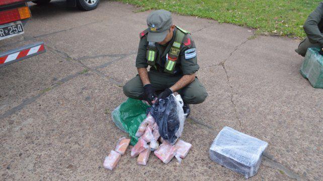 Operación Pintura Fresca: interceptaron 285 kilos de marihuana que venían a Santa Fe