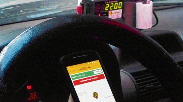 Easy taxi. Fue la primera que arribó a la ciudad en 2014.