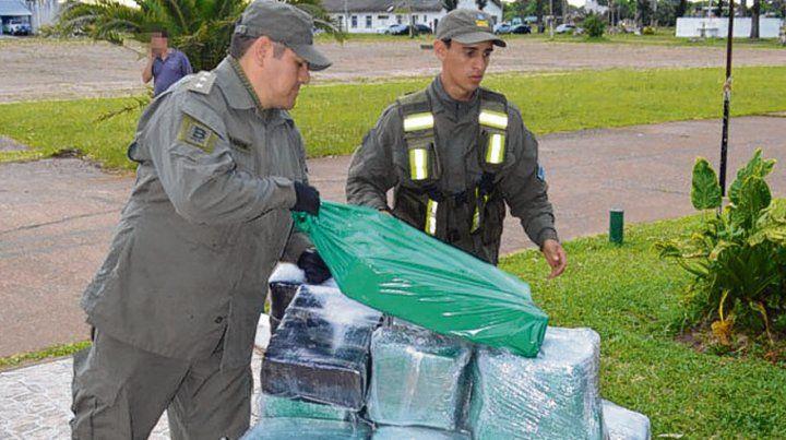 Tapebicuá. El procedimiento de Gendarmería fue realizado el sábado.