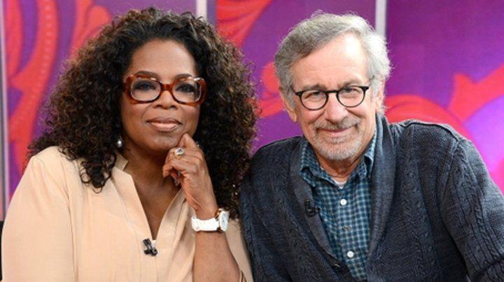 Dos potencias. Winfrey y Spielberg se reunirán nuevamente en el set.