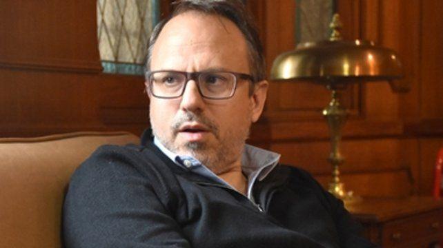 Valenzuela vino a Rosario para apoyar la candidatura a intendente de López Molina.