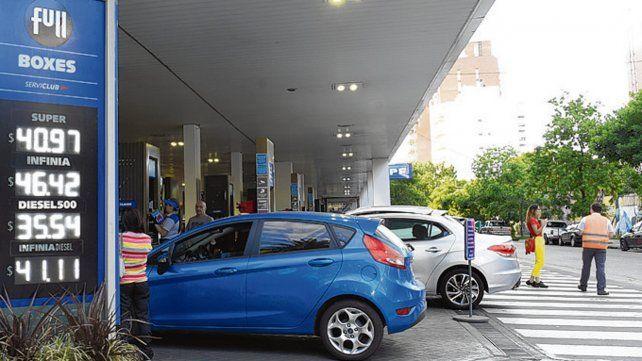En la pretrolera estatal actualizaron ayer los valores de las naftas.