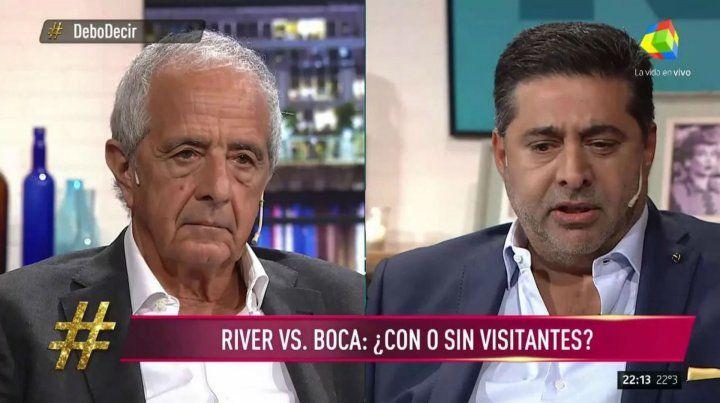 Angelici y DOnofrio confirmaron que las finales de la Libertadores serán sin visitantes
