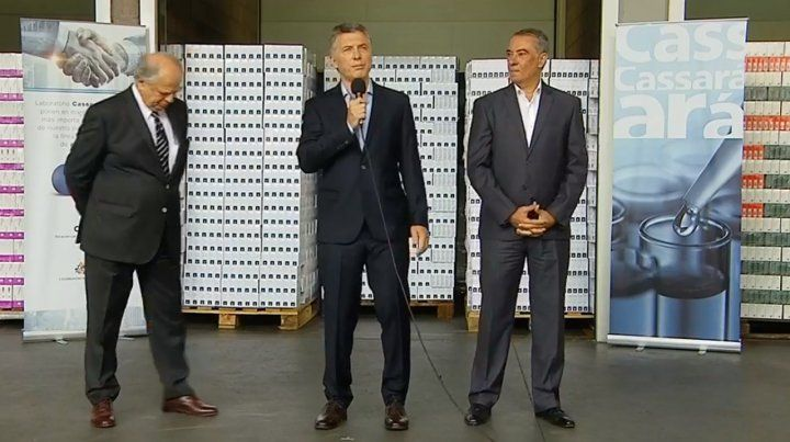 Macri anunció que el Pami vuelve a comprar medicamentos sin intermediarios