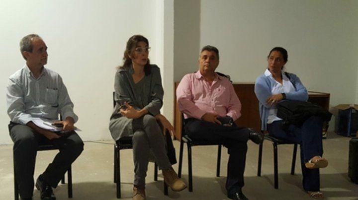 La ex vicegobernadora se reunió ayer con gremialistas y militantes.