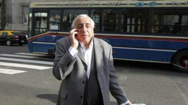 El garante. El respaldo de Fernández (UTA) fue clave en el último paro general convocado por la CGT.