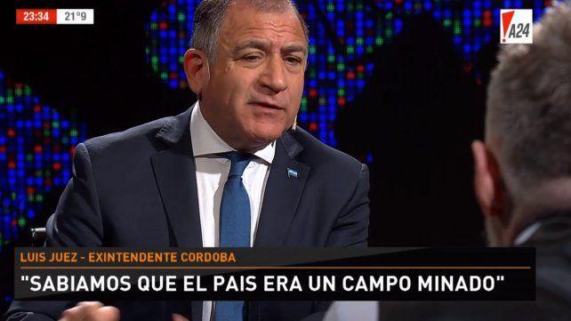 Luis Juez dijo que la opinión de Macri sobre los visitantes fue un papelón