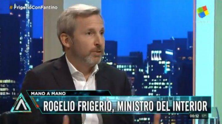 Frigerio destacó el apoyo de parte del PJ para sacar las leyes