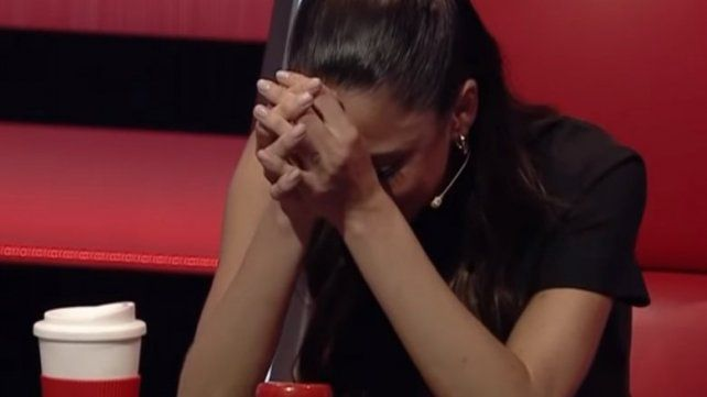 Tini Stoessel lloró al elegir a una cantante en La Voz Argentina