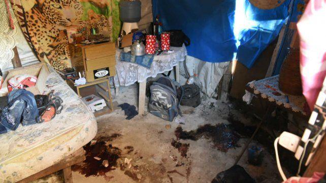 La casilla donde fueron ejecutadas dos personas y otra terminó con serias heridas.