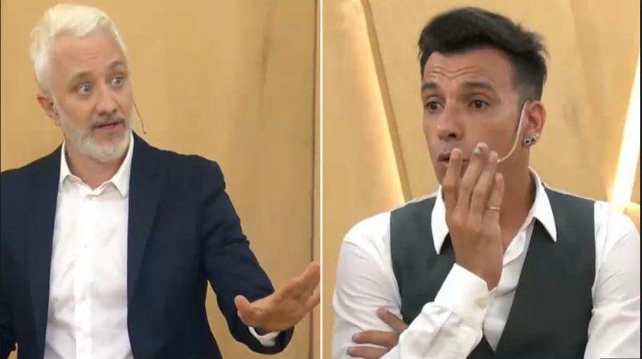 Martín Bossi habló de su cruce con Andy Kusnetzoff