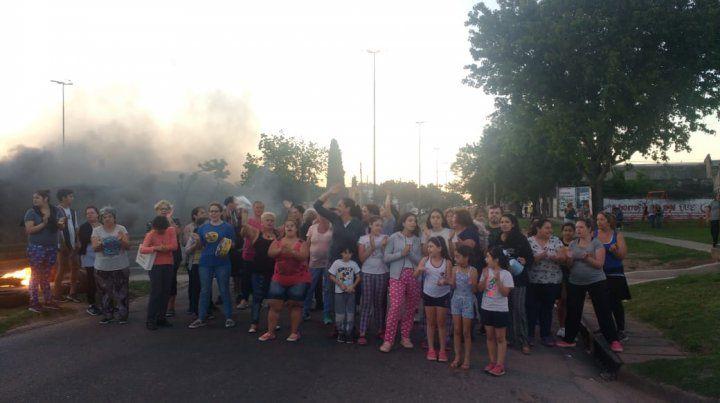 Vecinos de Casiano Casas protestan ante varios hechos de inseguridad