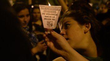 Convocatoria. Una protesta frente a los Tribunales provinciales en el marco de la campaña Ni Una Menos.
