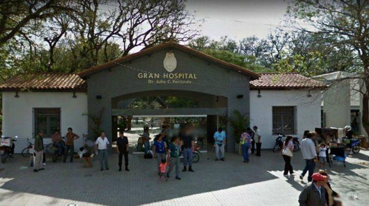La nena murió ayer en el hospital Julio C. Perrando de Resistencia.