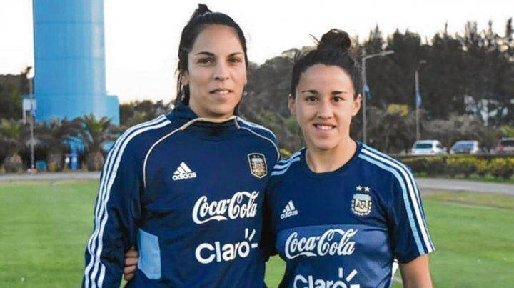 Vanina Correa y Virginia Gómez, las dos caras de Rosario en la selección