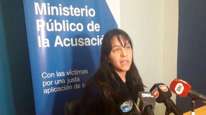 La fiscal Alejandra Río de Ayala.