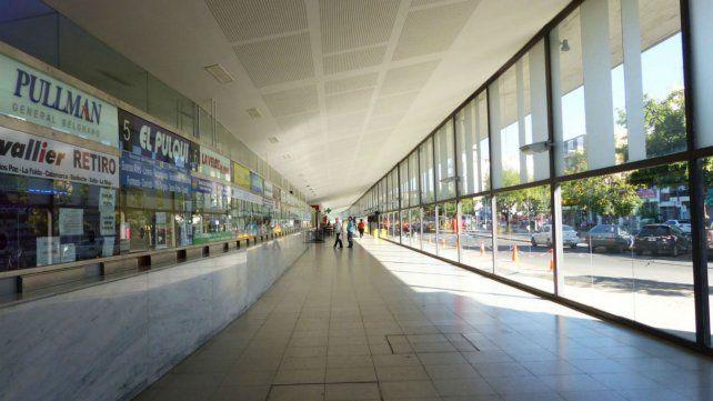 La actividad en la Terminal de Omnibus cayó entre un 30 y 40 por ciento este año