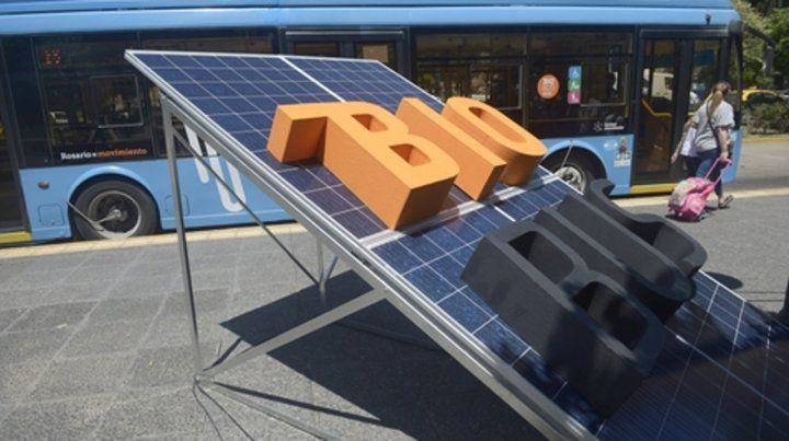 Transporte público. El flamante Bio Bus es un paso hacia un sistema integral apoyado en energías renovables.