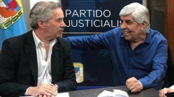 Al redil. Los históricos Solá y Moyano vuelven al PJ para ganarle a Macri.