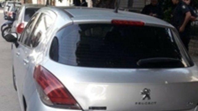 El coche donde murió la beba.