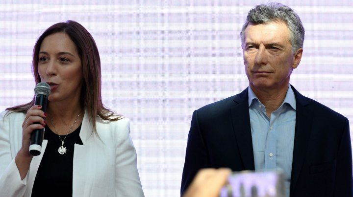 Vidal dijo que nunca estuvo en crisis su vínculo con Macri