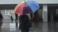 Las lluvias y tormentas, presentes en la ciudad.