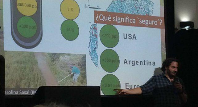 Tittonell disertó en Rosario en el marco del Programa Provincial de Producción Sustentable.